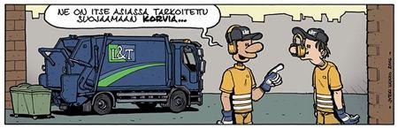 L&T sarjakuva
