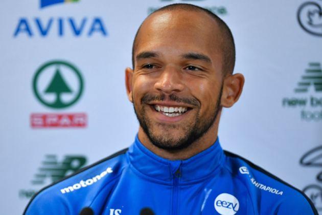 Kuvassa jalkapalloilija Nikolai Alho.
