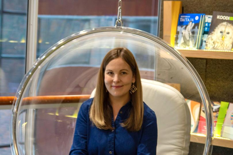 Oikotie Työpaikkojen Business Manager Noora Holmström